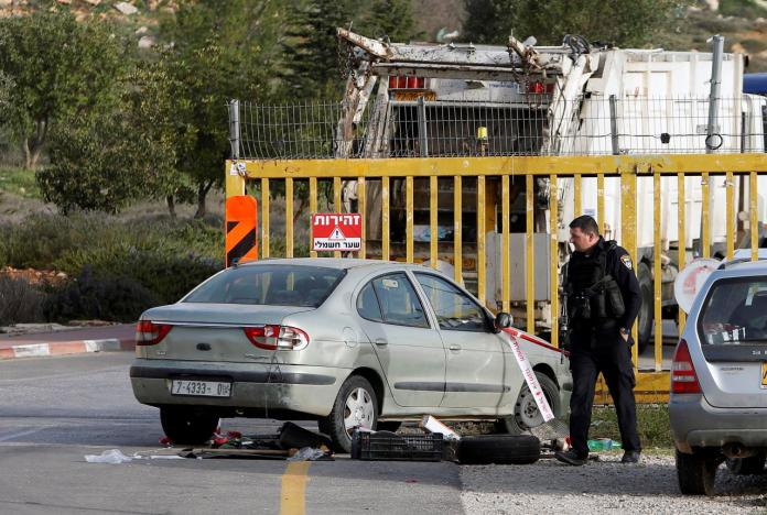 Palestinian killed at West Bank settlement: military