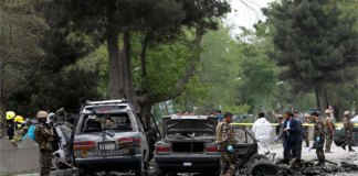 Eight killed in suicide bombing in Kabul: officials