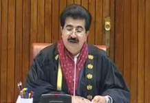 Sanjrani signs federal govt. budget as acting President