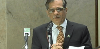 CJP Saqib Nisar regrets lack of facilities in Mansehra