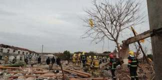 Blast on truck carrying explosives in northern China kills seven