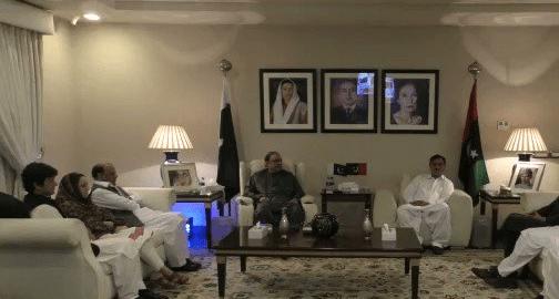 PTI MPAs Ubaid Mayar, Zahid Durrani, Nageena Khan joins PPP Asif Zardari