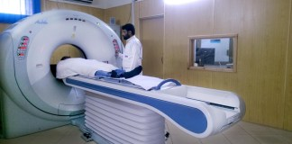 Modern medical equipment installed in BKMC Swabi