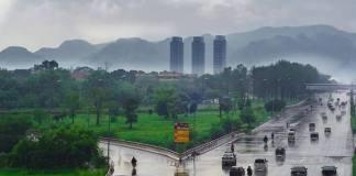 Rain turns weather pleasant in twin cities