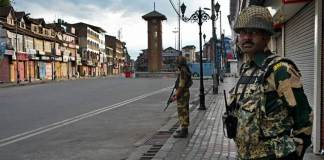 Lock-down of Occupied Kashmir continues on 5th consecutive day