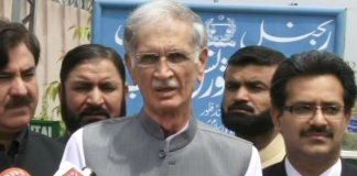 CM Khattak arrives NAB office for probe into KP govt's helicopter use