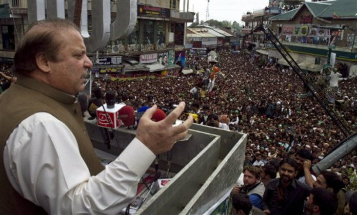 Nawaz Sharif announces to hold ten rallies before Ramzan