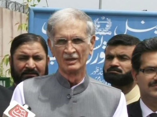 CM Khattak appears before NAB team in land scam, helicopter use probe