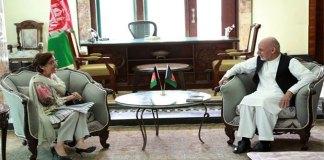 Tehmina Janjua meets Afghan President in Kabul