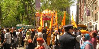 Huge Sikh parade in New York demands separation of Punjab from India