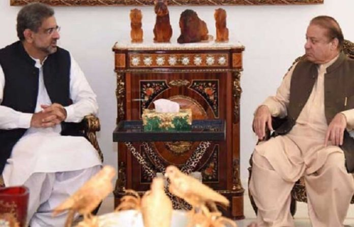Nawaz, PM Abbasi discuss political situation during meeting in London