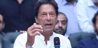 Imran Khan asks caretaker PM to remove KP governor