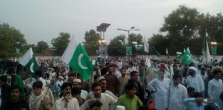Swabi people express solidarity with Pakistan Army