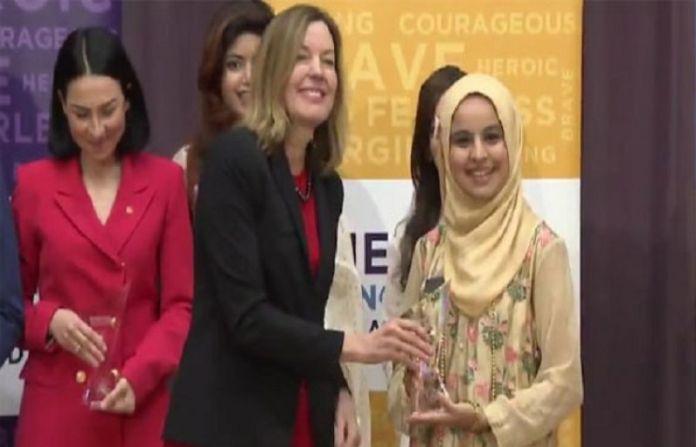 Pakistan's Dania Hassan receives 'Emerging Young Leaders Award'