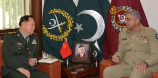 Chinese Gen calls on COAS, discuss enhanced bilateral defence cooperation