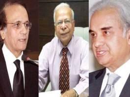 Nasir-ul-Mulk, Jilani, Ishrat PML-N's nominees for caretaker PM