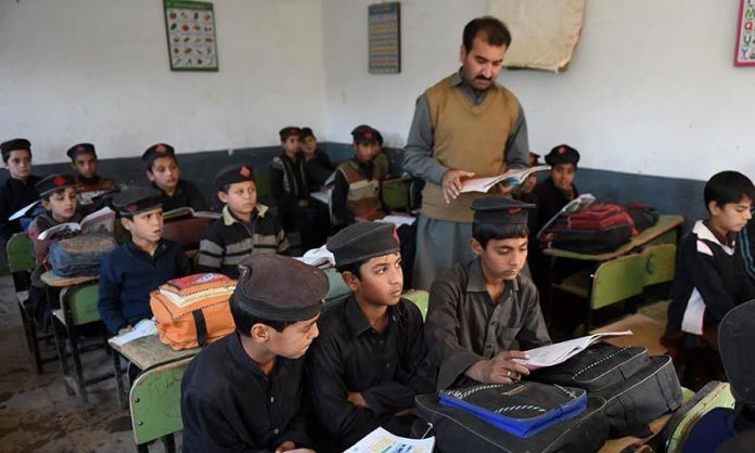 Students' enrollment in private increases as compare to govt schools in KP