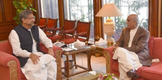 PM Abbasi, Khursheed Shah meeting today over caretaker govt