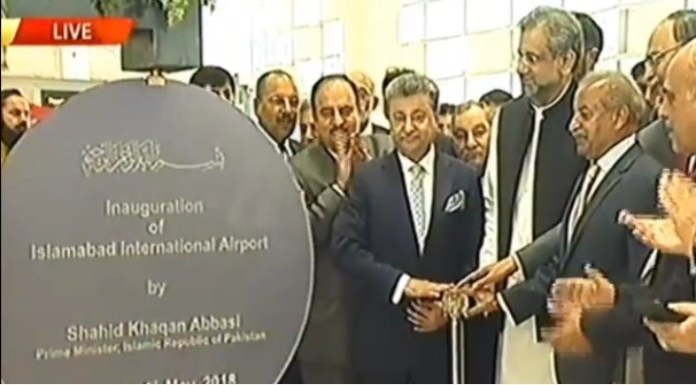 PM Abbasi inaugurates new Islamabad International Airport
