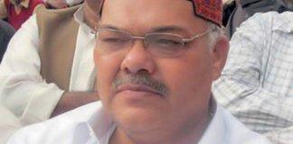 Qadir Magsi announces to contest election against Zardari in Nawabshah