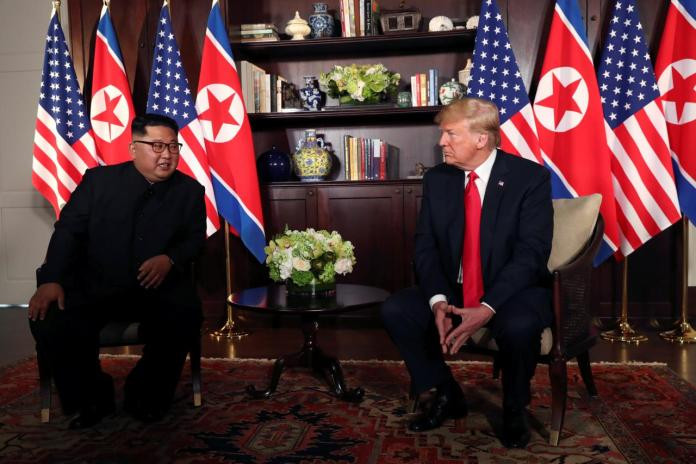 Trump says expects 'signing' after 'very good' talks with Kim
