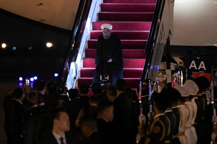 Iran's Rouhani criticizes U.S. 'unilateralism' over nuclear deal