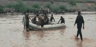 Relief operation underway in flood affected areas of KP