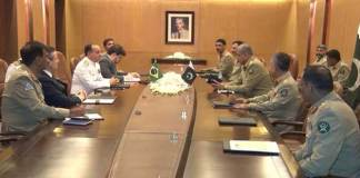 Brazillian Armed Forces Chief lauds Pak Army's Role in war against terror