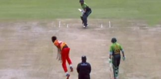 Pakistan set 309 runs target for Zimbabwe in 1st ODI