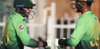 Fakhar leads Pakistan to 364/4 against Zimbabwe