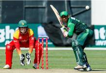 Pakistan, Zimbabwe to lock horns in fourth ODI | Khyber News