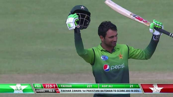 Fakhar becomes first Pakistani batsman to score double ton in ODI