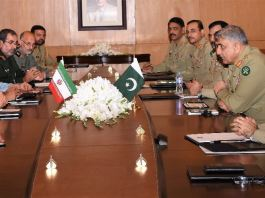 Pakistan, Iran cooperation vital for peace in region: COAS