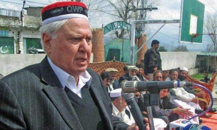 Sherpao calls for maintaining peaceful political atmosphere