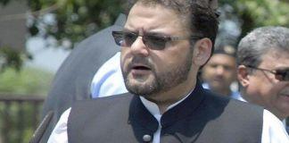 Nawaz Sharif not given basic rights in jail, complains Hussain Nawaz