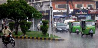 Met Office predicts rain throughout upper Pakistan on election day