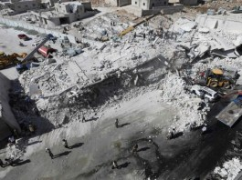 Syria weapons depot blast kills 12 civilians: monitor