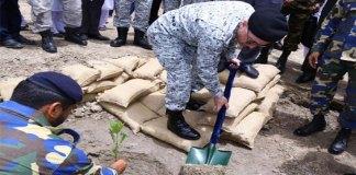 Pak Navy starts plantation drive at Margalla Hills