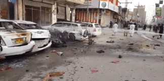 One killed, 10 injured in Chaman blast