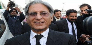 PPP's Aitzaz Ahsan submits nomination papers for presidential election