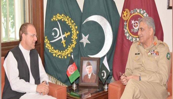 Afghan envoy Zakhilwal calls on COAS Gen Bajwa