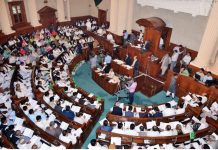 Punjab govt presents budget amid opposition protest