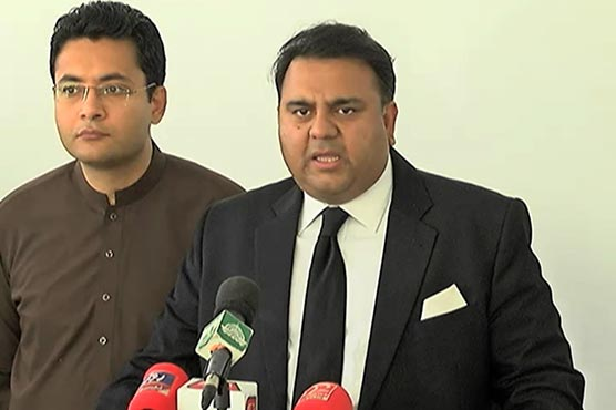 Nawaz, Zardari's political career is over now: Fawad Chaudhry