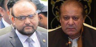 Nawaz Sharif, Wajid Zia appear in accountability court