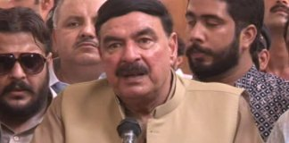 Sheikh Rashid announces compensation for Tezgam Express victims