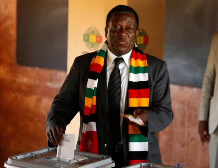 Zimbabwe's Mnangagwa wins first post-Mugabe election