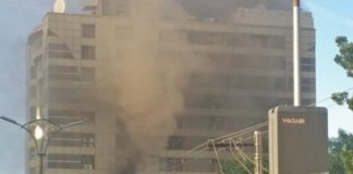 Fire extinguished at Lahore's shopping