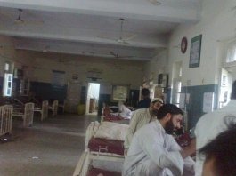 38 students hospitalized after consuming poisonous food in Kohat