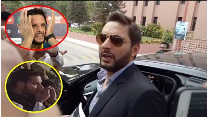 Shahid Afridi responds to 'naswar' viral video
