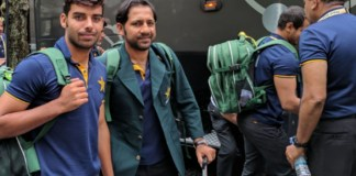 Pakistan cricket team arrives in Dubai for Asia Cup